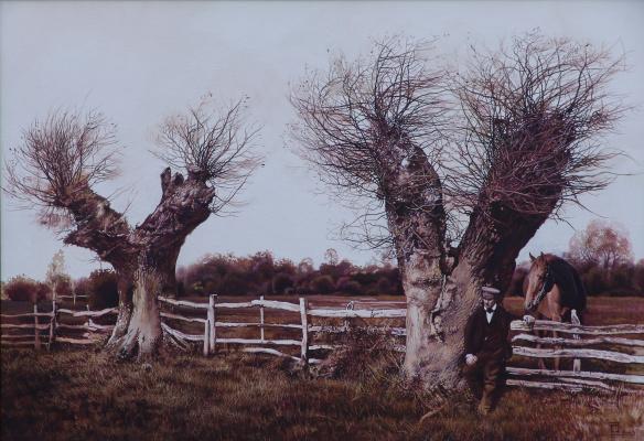 Roman Bondarenko. Rural landscape