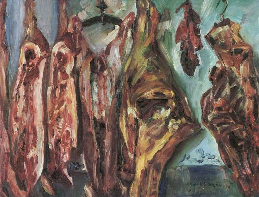 Ловис Коринт. Мясная лавка