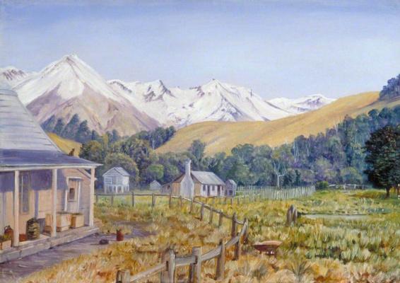 Марианна Норт. Кастл-Хилл и буковый лес, Новая Зеландия