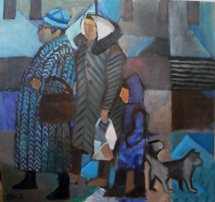 Stas Sergeevich Volostnykh. On the street