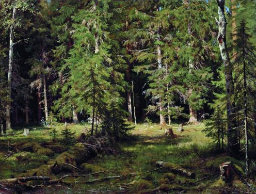 Ivan Ivanovich Shishkin. Forest