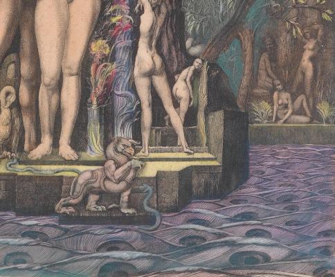 Ernst Fuchs. Plot 64