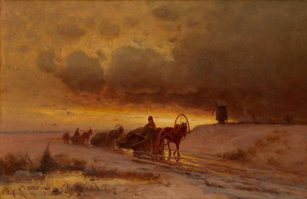 Julius Klever. On the road