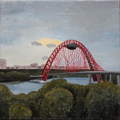 Victoria Aleksandrovna Oleinikova. Picturesque bridge