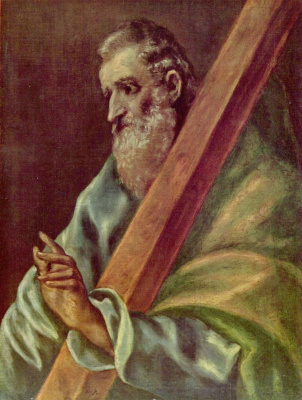 Domenico Theotokopoulos (El Greco). The Apostle Saint Andrew