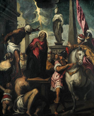 Jacopo Palma Junior. The Martyrdom Of The Holy Justine