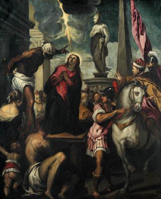 Джакомо Пальма Младший. Мученичество Святой Джустины