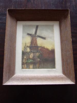 "Marcel Augis. ""Moulin a Delft""."