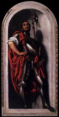 Paolo Veronese. Saint Minnas