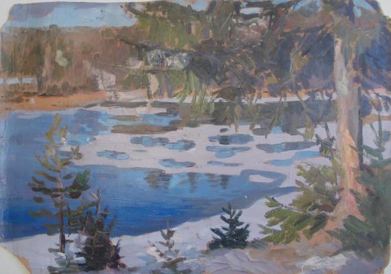 Nina Vasilievna Sedova. Icefall