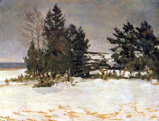 Konstantin Korovin. Winter