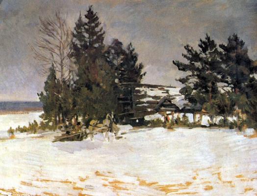 Konstantin Korovin. Winter
