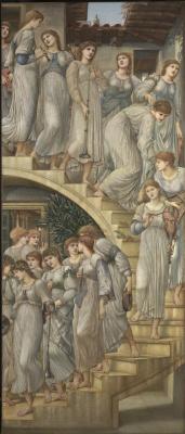 Edward Coley Burne-Jones. The Golden stairs