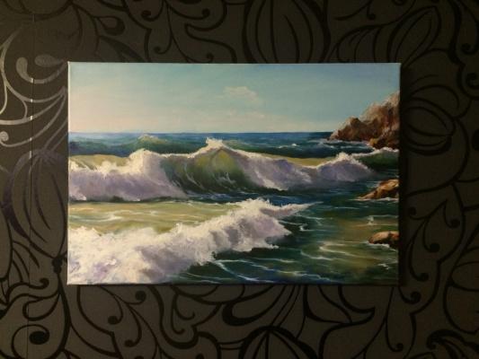 Liana Kvyshko. Caspian waves