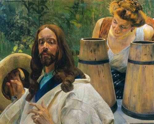 Христос и самаритянка1