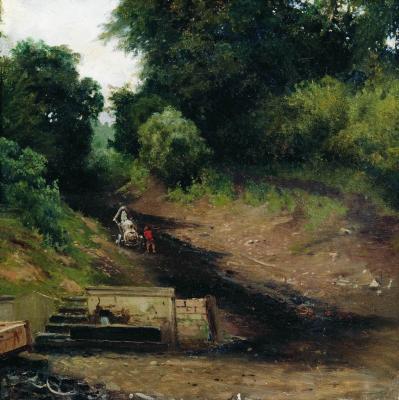 Grigory Grigorievich Myasoedov. Spring. Chuvash State Art Museum, Cheboksary