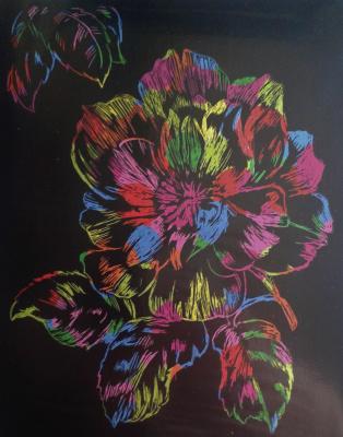Zina Vladimirovna Parisva. Flower