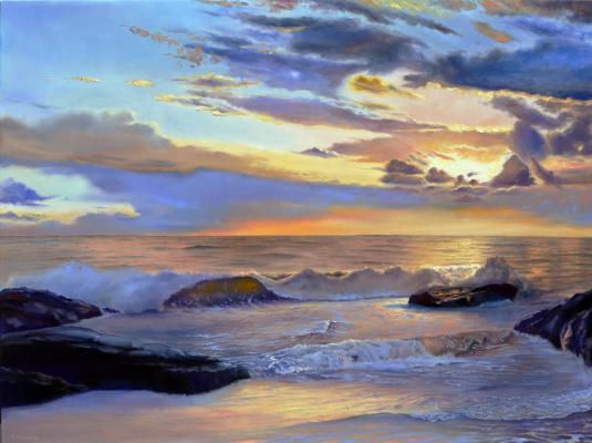 Sergei Lutsenko. The warmth of the ocean