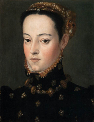 Giuseppe Arcimboldo. Portrait of the daughter of Ferdinand I