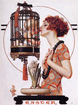 Joseph Christian Leyendecker. Cupid