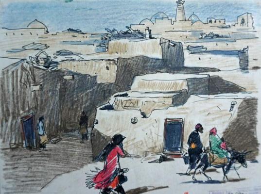 Виталий Михайлович Волович. Bukhara - Khiva