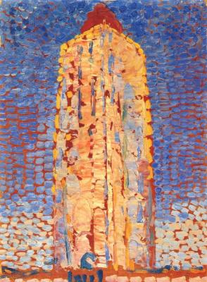 Piet Mondrian. Lighthouse in Westkapelle
