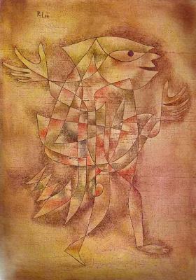 Paul Klee. Little jester in a trance