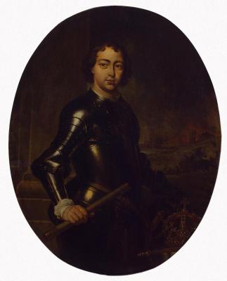 Jan Baptist Venix. Portrait Of Peter I