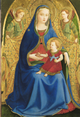 Fra Angelico. Madonna with a pomegranate
