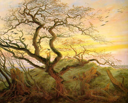 Caspar David Friedrich. Ravens tree