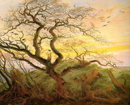 Caspar David Friedrich. Ravens tree