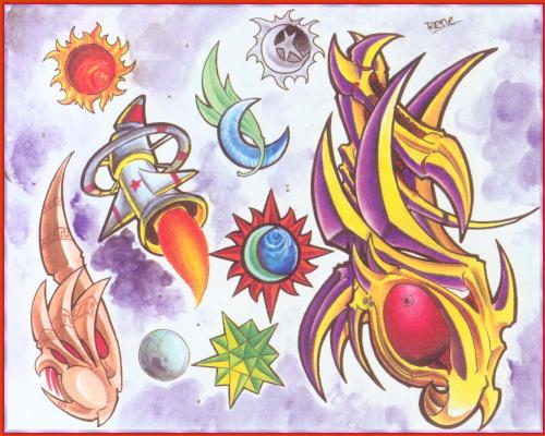 Рене Чавира. Солнце и луна