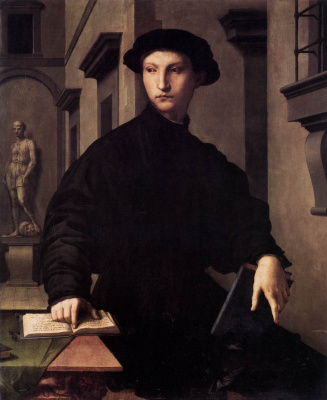 Agnolo Bronzino. Portrait of Uglino Martellli