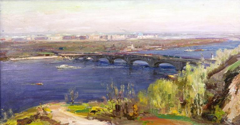 Сергей Федорович Шишко. Киев. Утро над Днепром