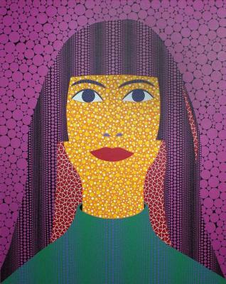 Yayoi Kusama. Self Portrait
