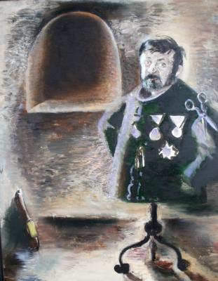 Anatoly Alekseevich Bolkhontsev. Self-portrait
