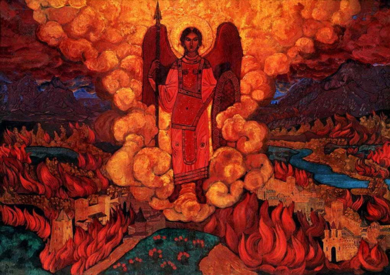 Nicholas Roerich. The last angel