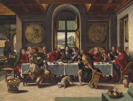 Peter Cook Van Alst. The last supper