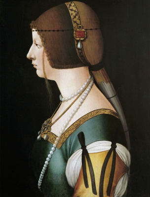 Giovanni Ambrogio de Predis. Bianca Maria Sforza