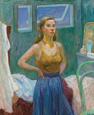 Туве Янссон. Автопортрет
