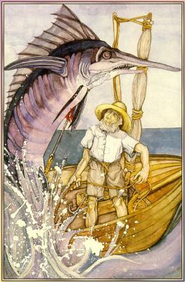Джеки Кэмпбелл. Старый рыбак