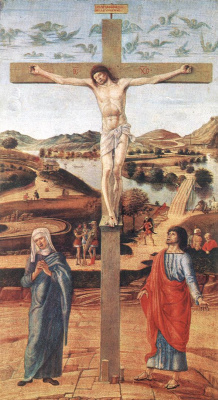 Giovanni Bellini. The Crucifixion