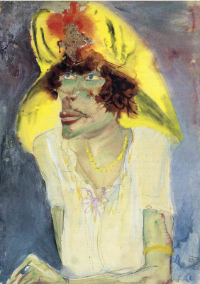 Otto Dix. Dedicated to the dramatist Frank Wedekind