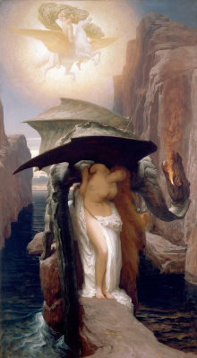 Frederic Leighton. Perseus and Andromeda