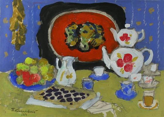 Petr Petrovich Konchalovsky. Tea hour