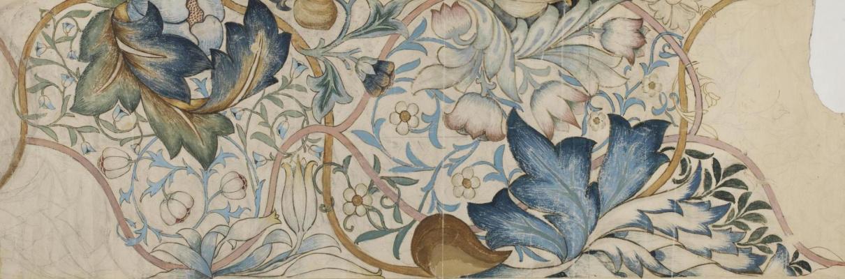 William Morris. Artichoke