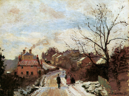 Camille Pissarro. Lower Norwood