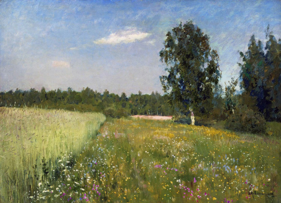 Isaac Levitan. June day (Summer)