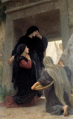 Вильям Адольф Бугро. Святые жены у гроба Господня