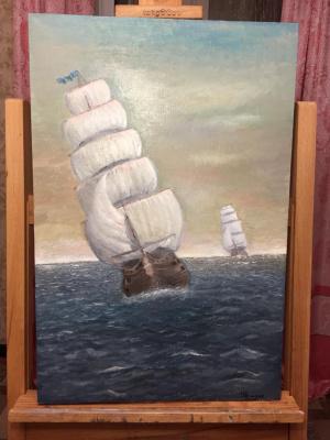 Ramses Arsenovich Tlyakodugov. Seascape